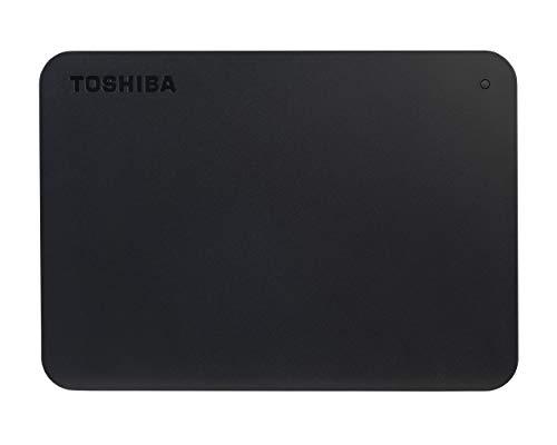 Toshiba Canvio Basics, Disco Duro, 1, Negro