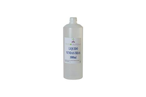 Líquido de Vendas Frias 1000 ml (Fucus,Castaño de Indias, Alcanfor,Menthol)