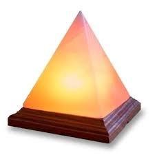 Lámpara de Sal del Himalaya - MAGIC SALT  Lighting For Your Soul - (PIRAMIDE)
