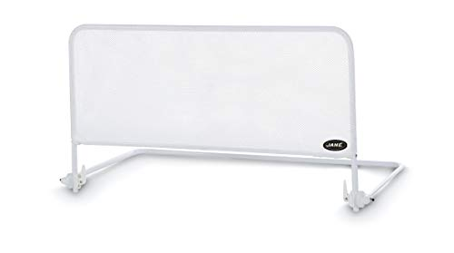 Jané 050208C01 - Barrera de Cama Abatible, Color Blanco, Largo 90 cm