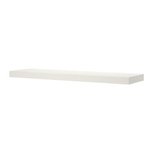 Ikea Falta - Estantería de Pared, Blanco - 110x26 cm