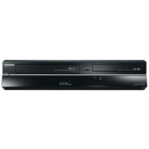 Toshiba D-VRI9DT DVD & VHS Recorder Grabador de DVD Negro - Reproductores de CD/Blu-Ray (PAL, Dolby Digital,DTS, CD-R,CD-RW,DVD+R,DVD+RW,DVD-R,DVD-RW, Negro, 435 mm, 338 mm)