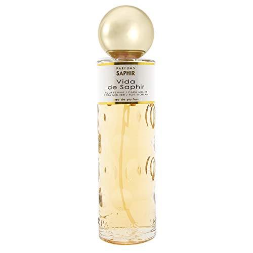 PARFUMS SAPHIR Vida - Eau de Parfum con vaporizador para Mujer - 400 ml