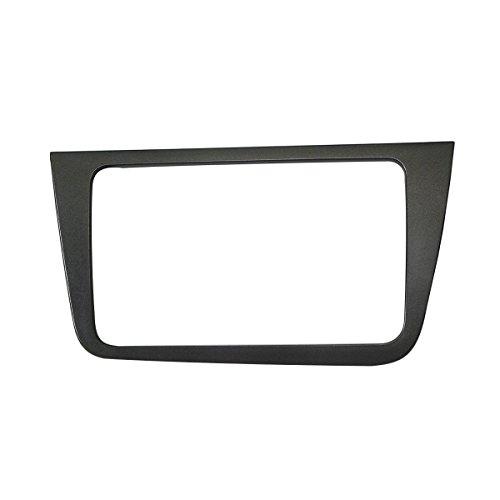 MAXIOU Double Din Car Radio Fascia for SEAT Altea Stereo Face Plate Frame Panel Dash Mount Trim Kit Adapter Bezel facia