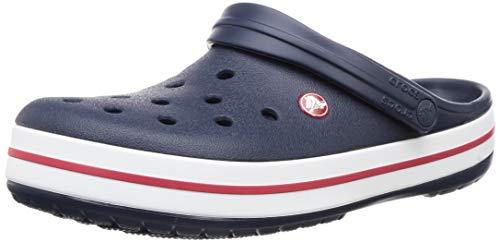Crocs Crocband, Zuecos Unisex Adulto, Azul (Navy), 39/40 EU