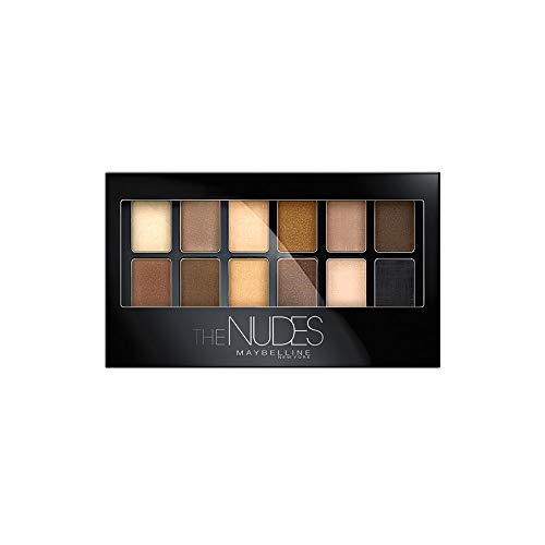 Maybelline New York The Nudes, Paleta de Sombras de Ojos