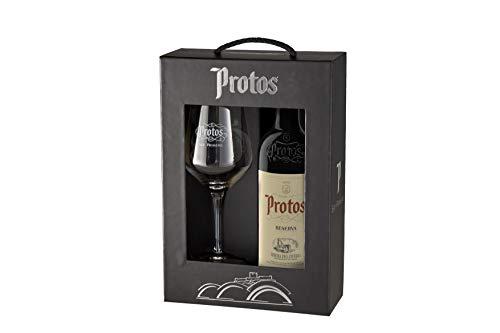 Protos Reserva - Estuche Vino Tinto 75 cl y Copa Protos