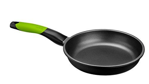 BRA PRIOR - Sartén de 20 cm, aluminio fundido con antiadherente Teflon Classic, apta para todo tipo de cocinas incluida inducción y horno.Libre de PFOA.