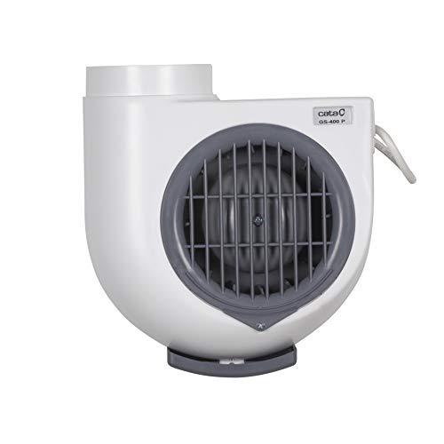 Cata Gs 400 P Extractor de Humos para Cocinas, 60 W, 230 V, Blanco Y Gris, Talla Única