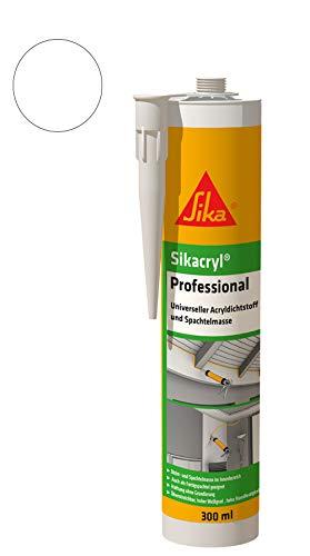 Sika 528149 Sellador acrílico, Blanco, 300 ml