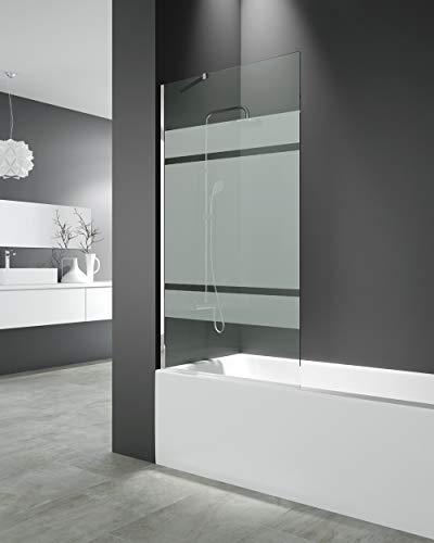Panel fijo para bañera 150x85 cm - Modelo Screen de GME - Cristales de 8 mm con Tratamiento antical de serie (FROST PLUS)