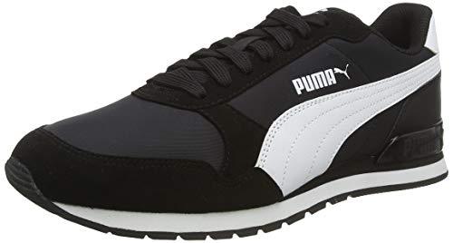 PUMA St Runner V2 NL, Zapatillas Unisex adulto, Negro Black White, 36 EU