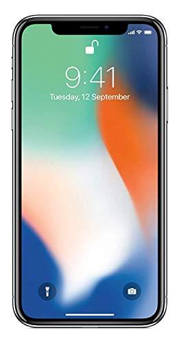 Apple iPhone X 64GB - Plata - Desbloqueado (Reacondicionado)