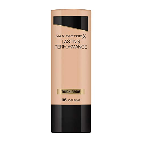 Max Factor Lasting Performance Touch Proof 105-Soft Beige - 1 Unidad