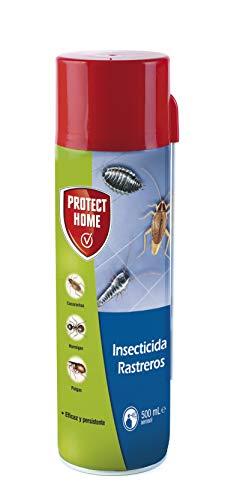 Protect Home Insecticida Blattanex, Uso Doméstico de Acción Inmediata contra Cucarachas, Hormigas E Insectos Rastreros, Verde Agua, 6.5x6.3x24 cm