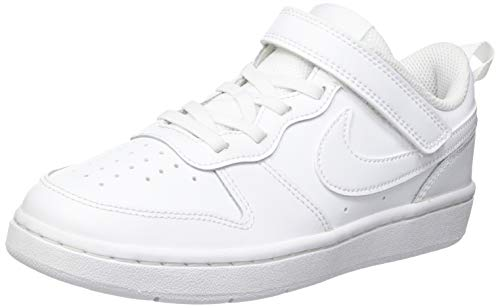 Nike Court Borough Low, Zapatillas, Blanco 51, 34 EU
