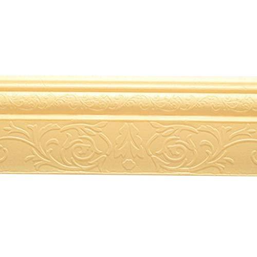 Herewegoo - Moldura 3D autoadhesiva, para marcos de puertas, de polietileno, impermeables, para decoración de pared
