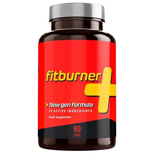 Fitburner+ | Quemagrasas Potente y Natural | Pastillas para Adelgazar Rápido | Supresor de Apetito para Perder Peso | Quemador de Grasa Abdominal | 90 Pastillas Veganas