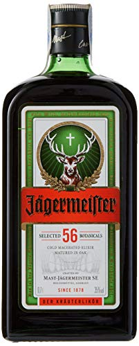 Jägermeister - Licor, Botella 70 cl (35% Vol)