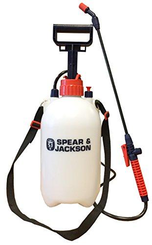 Spear & Jackson - Pulverizador a presión con bomba 5L
