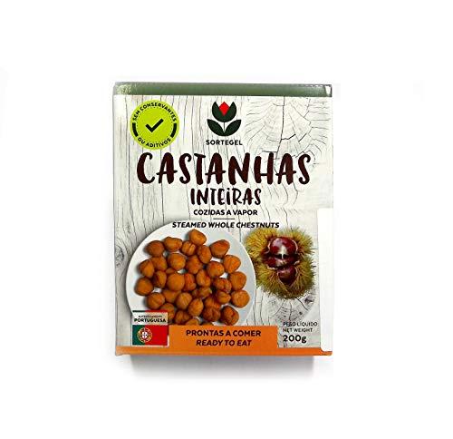 Castañas Cocidas de Trás-os-Montes - Portugal 400g