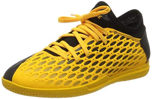 PUMA Future 5.4 IT JR, Botas de fútbol Unisex niños, Amarillo (Ultra Yellow Black), 33 EU