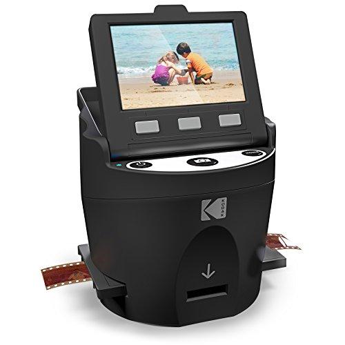 Kodak Digital - Escáner de películas negativas para JPEG (35 mm, 126, 110, Super 8 y 8 mm)