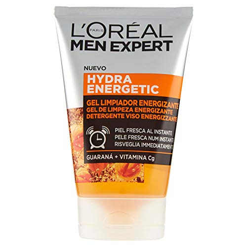 L'Oréal Men Expert - Hydra Energetic gel limpiador energizante para hombres - 100 ml