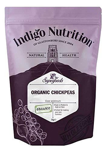 Indigo Herbs Garbanzos Orgánicos 1kg