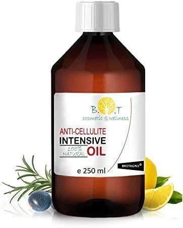 Aceite Anti Celulitis 250 ml Con Aceites Esenciales Triple acción: drenante, quema grasa y reafirmante. Penetra 6 veces mejor que una crema anti celulitis