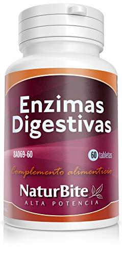 Naturbite Enzimas Digestivas - 60 Tabletas, 58 g