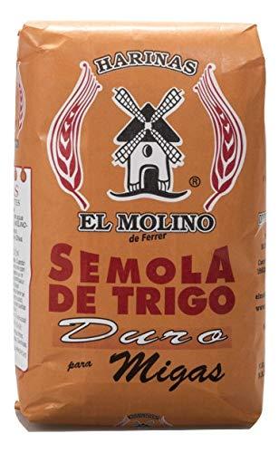 El Molino - Sémola de trigo duro para migas 1 kg (1000 gramos)