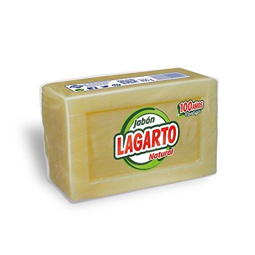 Lagarto - Jabón natural - 400 g - [paquete de 8]