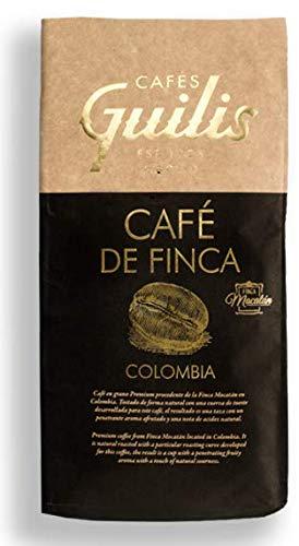CAFES GUILIS DESDE 1928 AMANTES DEL CAFE Café Colombiano en Grano Arábica Tueste Natural. Finca Mocatán 1 Kilogramo