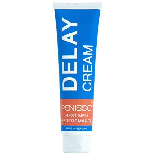 Penisso Delay – Crema retardante para el pene   Fabricada en Alemania   Contra la eyaculación precoz   Para un placer más duradero   Ingredientes naturales, delicada con la piel   100 ml