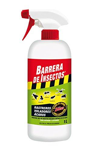 Compo 2036302011 Barrera Insecticida para Insectos Rastreros y voladores, Pulverizador, Acción de Choque de hasta 3 Meses, 1 L
