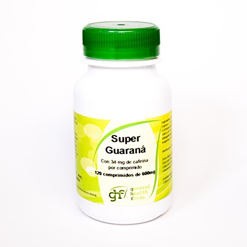 Ghf Super Guaraná, 120 comprimidos 600 mg
