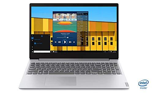 Lenovo S145-15IWL - Ordenador portátil 15.6' HD (Intel Core i3-8145U, 4GB RAM, 256GB SSD, Intel UHD Graphics, sin sistema operativo) Gris - Teclado QWERTY español