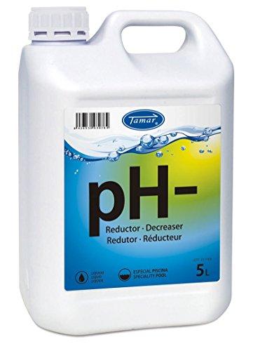 Tamar - Reductor pH Liquido, Garrafa de 5 Litros.