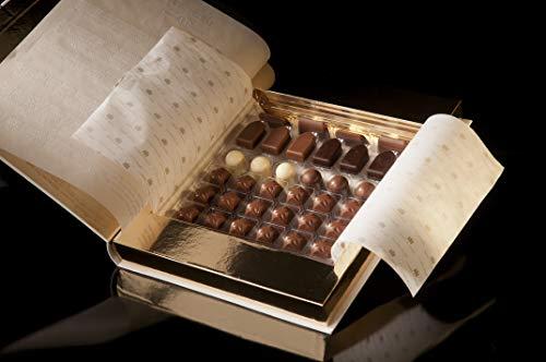 Caja de Bombones de Chocolate Artesano Gourmet 34 piezas