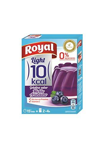 ROYAL gelatina de arándanos light caja 31 gr