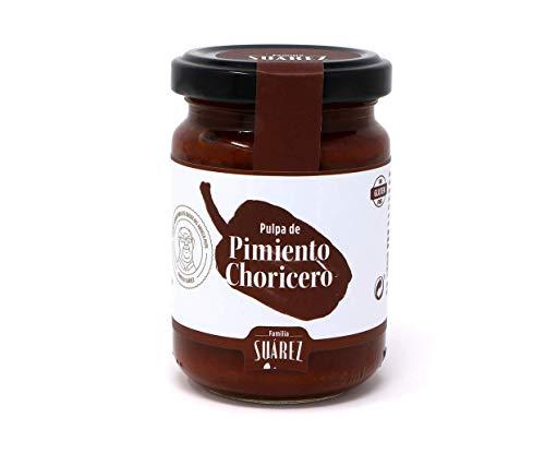 Pulpa De Pimiento Choricero - Tarro Cristal 135 gr - Familia Suarez