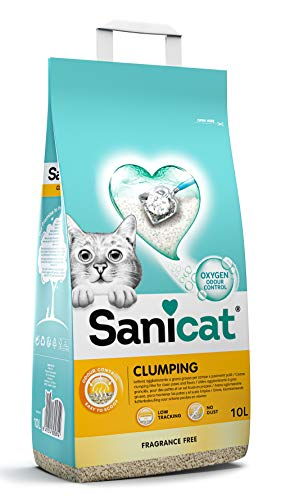 SANICAT clumping unscented 10L