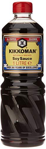 Kikkoman Salsa de Soja Oscura - 1000 ml