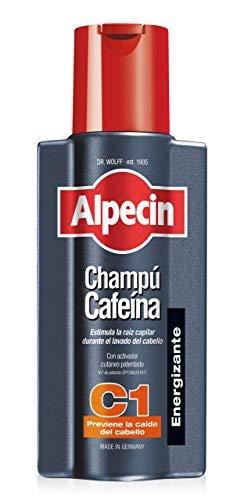 Alpecin Champú Cafeína C1, 1 x 250 ml – champú anticaída para hombres