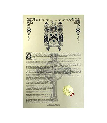 Arnedo escudo de armas, Escudo del familia y nombre historia–Celebración Scroll 11x 17vertical–España origen