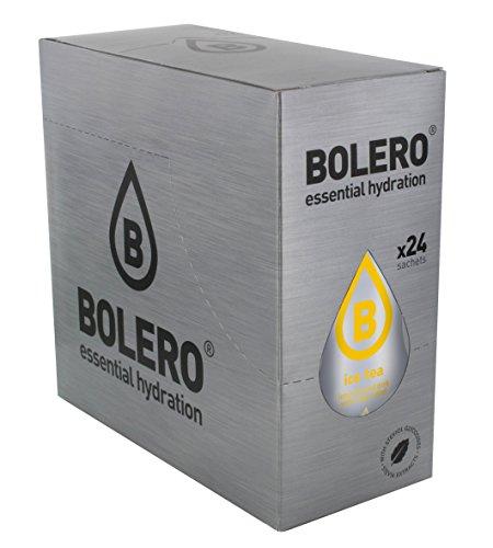 Bolero Bebida Instantánea sin Azúcar, Sabor Té Limón - Paquete de 24 x 8 gr - Total: 192 gr