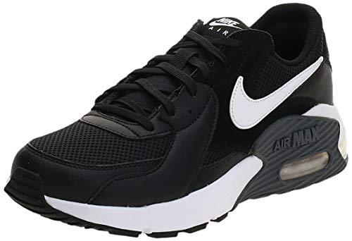 Nike Air MAX Excee, Zapatillas Hombre, Negro Black White Dk Grey, 45 EU