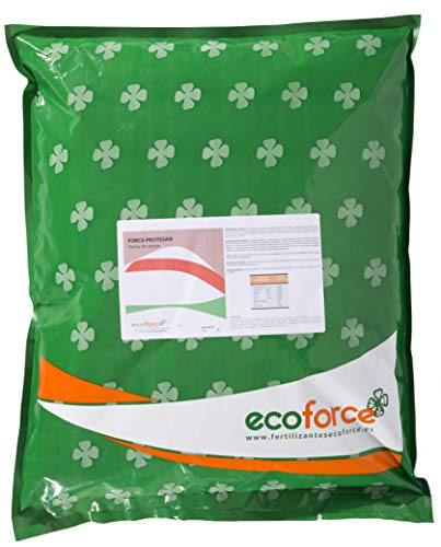 CULTIVERS Harina de Sangre Force-protesan de 5 kg. Abono Ecológico con Alto Contenido de nitrógeno, obtenido a Partir de harinas de Sangre. Precio Directo de fabrica