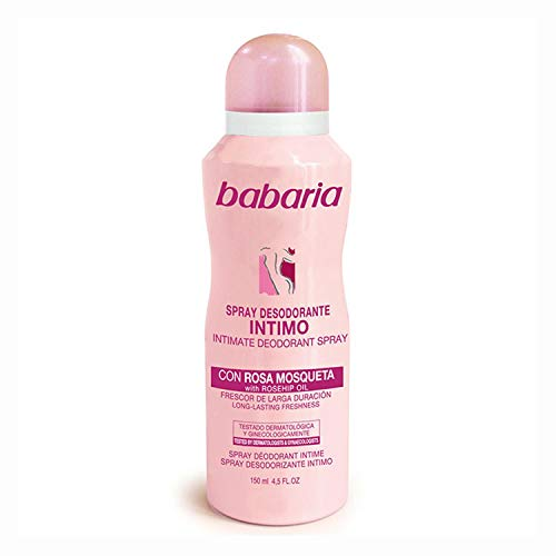 BABARIA SPRAY DESODORANTE INTIMO CON ROSA MOSQUETA 150ML SPRAY